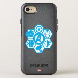 Avengers Assemble Icon Badge OtterBox Symmetry iPhone 7 Case