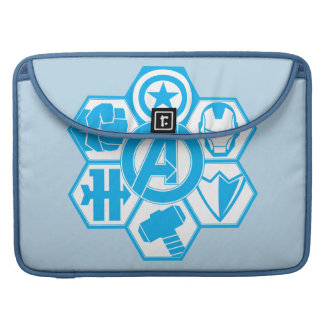 Avengers Assemble Icon Badge Sleeves For MacBook Pro