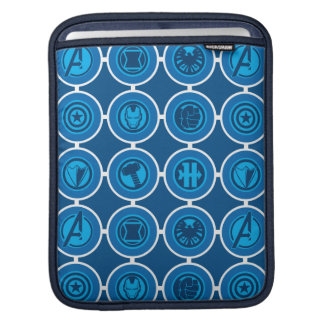 Avengers Assemble Icon Pattern Sleeves For iPads