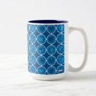 Avengers Assemble Icon Pattern Two-Tone Coffee Mug