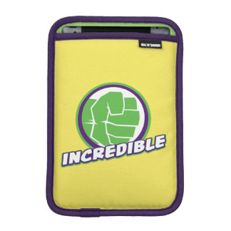 Avengers Assemble Incredible Hulk Logo iPad Mini Sleeve