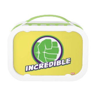 Avengers Assemble Incredible Hulk Logo Lunch Box