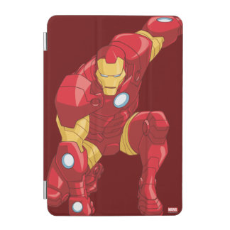 Avengers Assemble Iron Man Character Art iPad Mini Cover