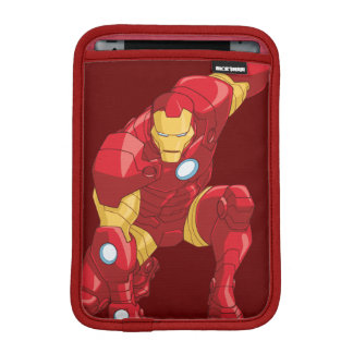 Avengers Assemble Iron Man Character Art iPad Mini Sleeves