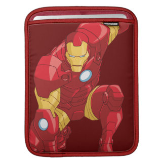 Avengers Assemble Iron Man Character Art iPad Sleeves