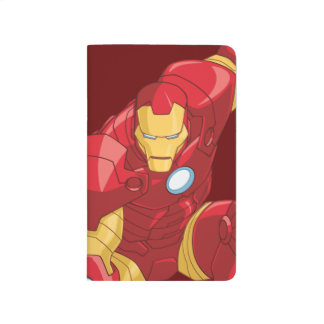 Avengers Assemble Iron Man Character Art Journals