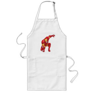 Avengers Assemble Iron Man Character Art Long Apron