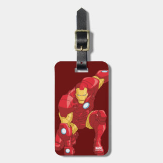 Avengers Assemble Iron Man Character Art Luggage Tag