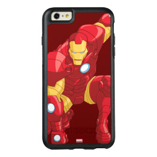 Avengers Assemble Iron Man Character Art OtterBox iPhone 6/6s Plus Case