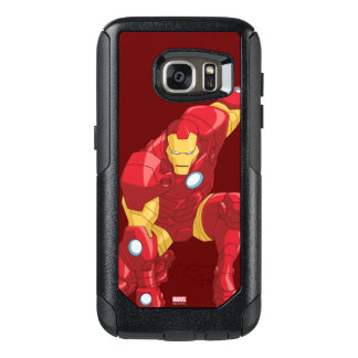 Avengers Assemble Iron Man Character Art OtterBox Samsung Galaxy S7 Case