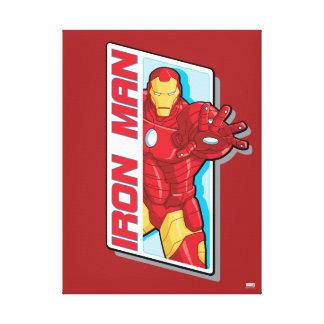 Avengers Assemble Iron Man Graphic Canvas Print