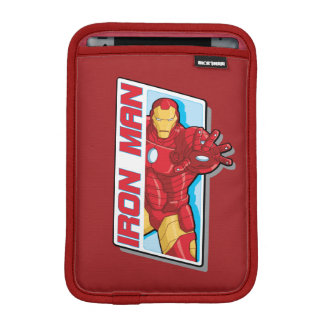 Avengers Assemble Iron Man Graphic iPad Mini Sleeves