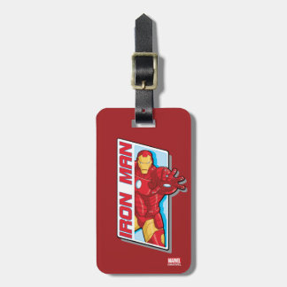 Avengers Assemble Iron Man Graphic Luggage Tag
