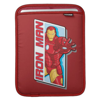 Avengers Assemble Iron Man Graphic Sleeves For iPads