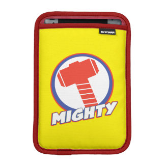 Avengers Assemble Mighty Thor Logo iPad Mini Sleeves