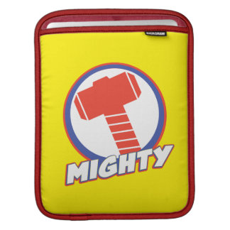 Avengers Assemble Mighty Thor Logo iPad Sleeves