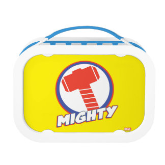Avengers Assemble Mighty Thor Logo Lunchbox