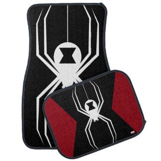 Avengers   Black Widow Icon Car Mat