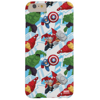 Avengers Character Action Kids Pattern Barely There iPhone 6 Plus Case