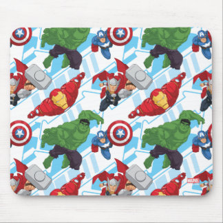 Avengers Character Action Kids Pattern Mouse Pad