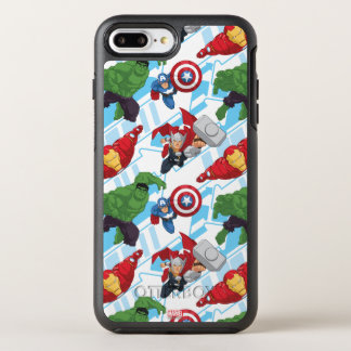 Avengers Character Action Kids Pattern OtterBox Symmetry iPhone 7 Plus Case