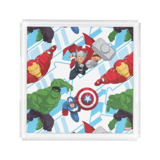Avengers Character Action Kids Pattern Perfume Tray