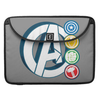 Avengers Character Logos MacBook Pro Sleeves