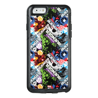 Avengers Character Pattern OtterBox iPhone 6/6s Case