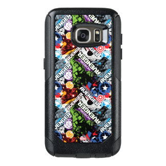 Avengers Character Pattern OtterBox Samsung Galaxy S7 Case