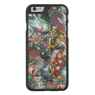 Avengers Classics | Loki And Frost Giants Carved® Maple iPhone 6 Case