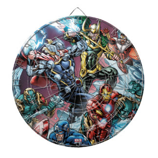 Avengers Classics | Loki And Frost Giants Dartboard
