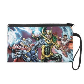 Avengers Classics | Loki And Frost Giants Wristlet Purse