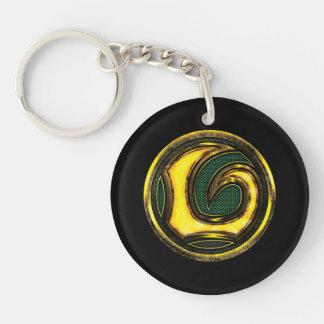 Avengers Classics   Loki Symbol Double-Sided Round Acrylic Keychain