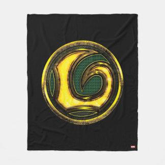Avengers Classics | Loki Symbol Fleece Blanket