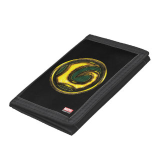 Avengers Classics | Loki Symbol Tri-fold Wallets
