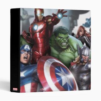 Avengers Classics | Poised For Battle Drawing Vinyl Binders