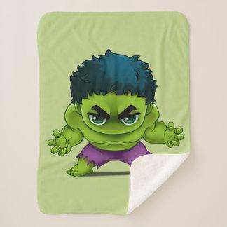 Avengers Classics | The Hulk Stylized Art Sherpa Blanket