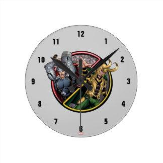 Avengers Classics   Thor Versus Loki Clock