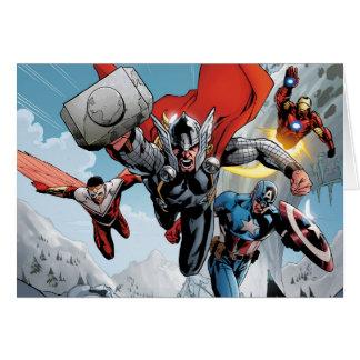 Avengers Classics | Traversing Through Snowy Mount Card