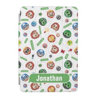 Avengers Emoji Characters Text Pattern iPad Mini Cover