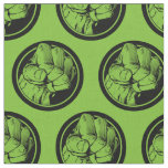 Avengers Hulk Fist Logo Fabric