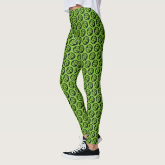 Avengers Hulk Fist Logo Leggings