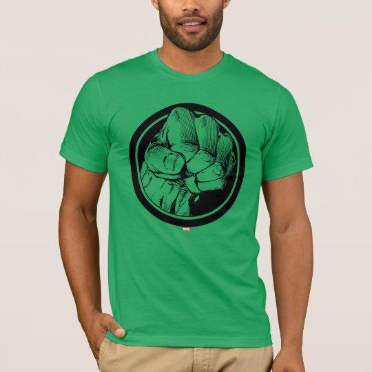 Avengers Hulk Fist Logo T-Shirt