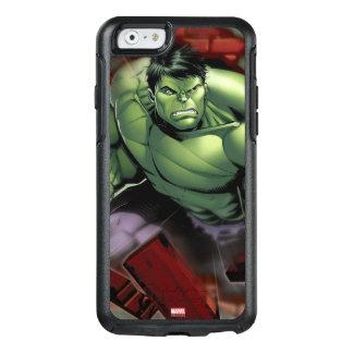 Avengers Hulk Smashing Through Bricks OtterBox iPhone 6/6s Case