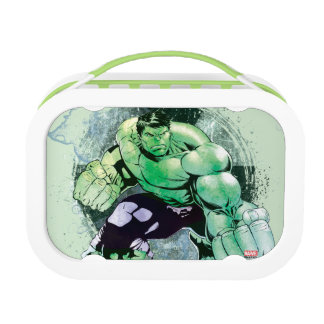 Avengers Hulk Watercolor Graphic Lunch Box