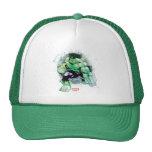 Avengers Hulk Watercolor Graphic Trucker Hat