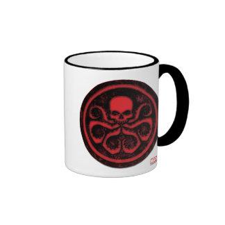 Avengers | Hydra Logo Ringer Coffee Mug