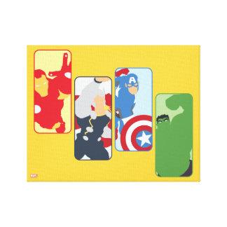 Avengers Iconic Graphic Canvas Print