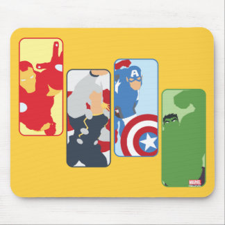 Avengers Iconic Graphic Mouse Pad