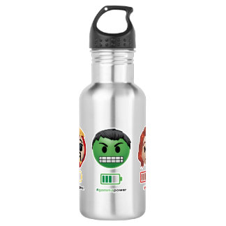 Avengers Power Emoji 532 Ml Water Bottle